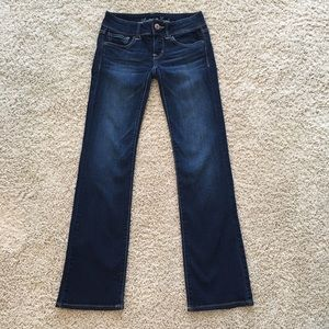 American Eagle stretch slim boot jeans